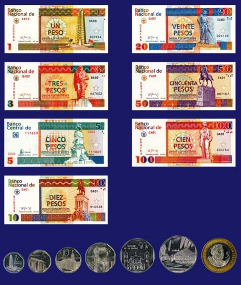 Peso Cuban Currency Cuba Photo Gov