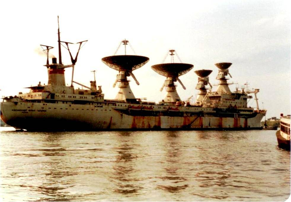 Soviet Spy Ship, havana Harbour, 1971; Photo by Arch Ritter