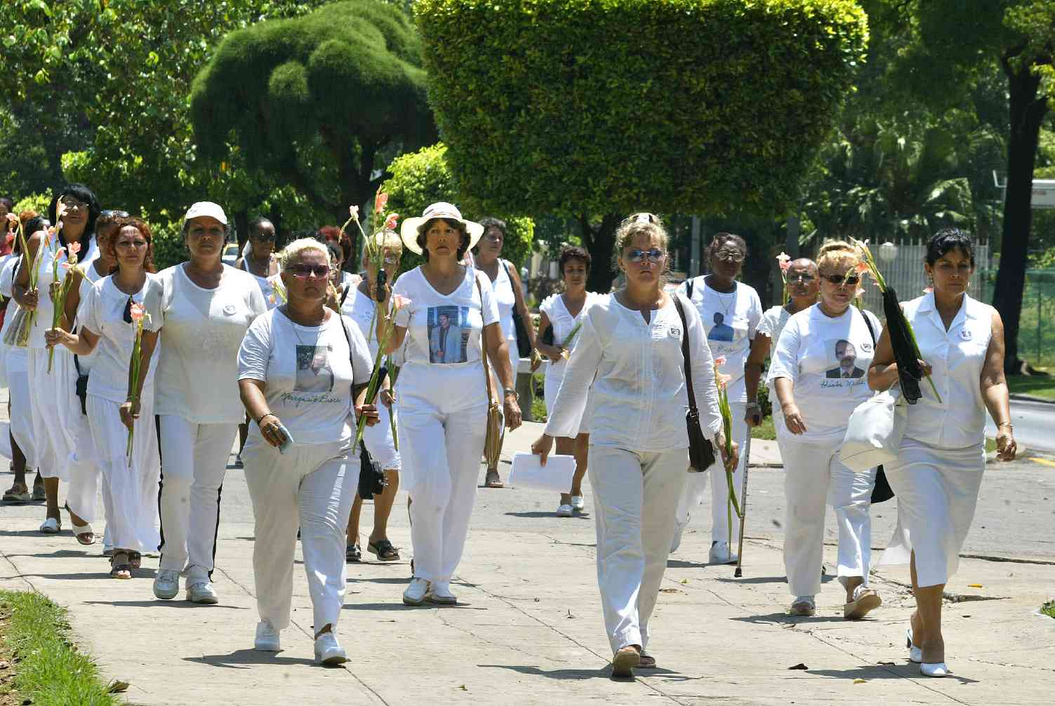 CUBA WIVES OF PRISONERS